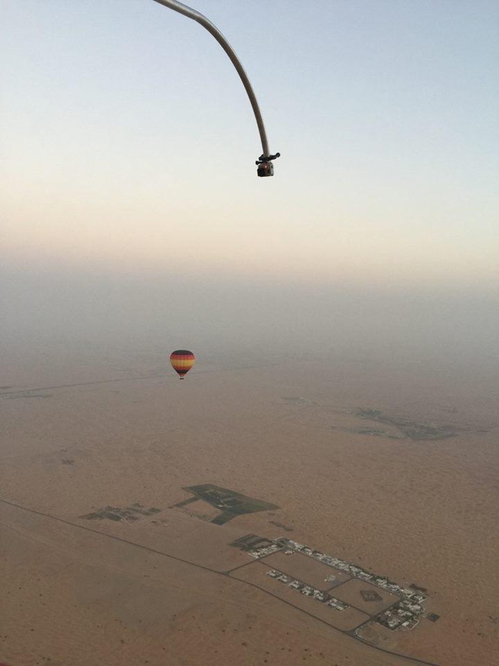 GoPro Hot air balloon ride in Dubai