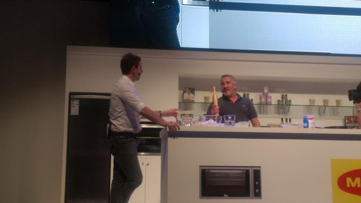 Paul Hollywood at Good food show Dubai