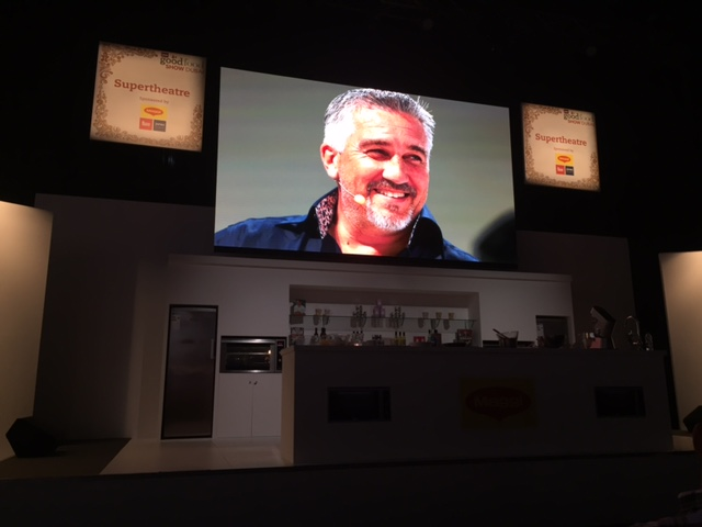 Paul Hollywood at BBC Good Food Show Dubai