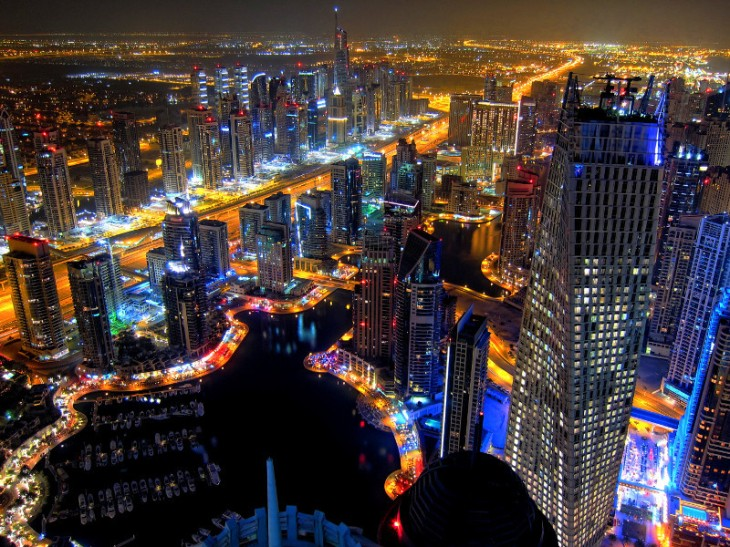 Dubai Marina &  JLT