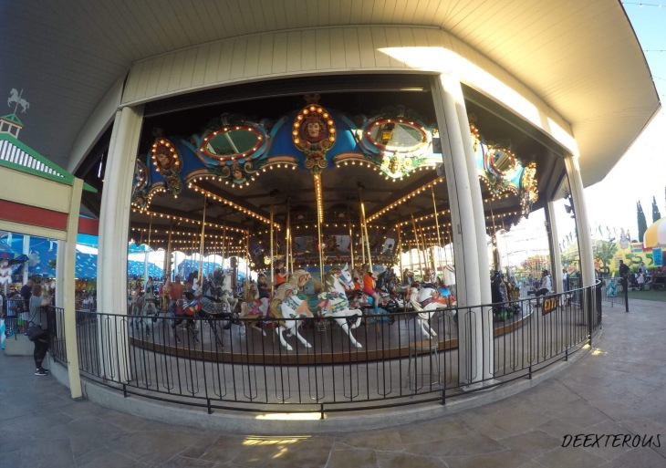 Carousel at State fair of Texas