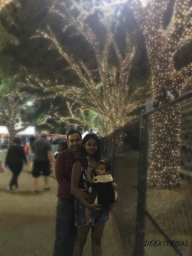 A family at State Fair of Texas