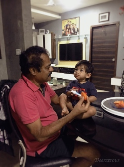 Dealing with Jet lag after 24 hour journey from west to East, from USA to India with a 1 year old toddler