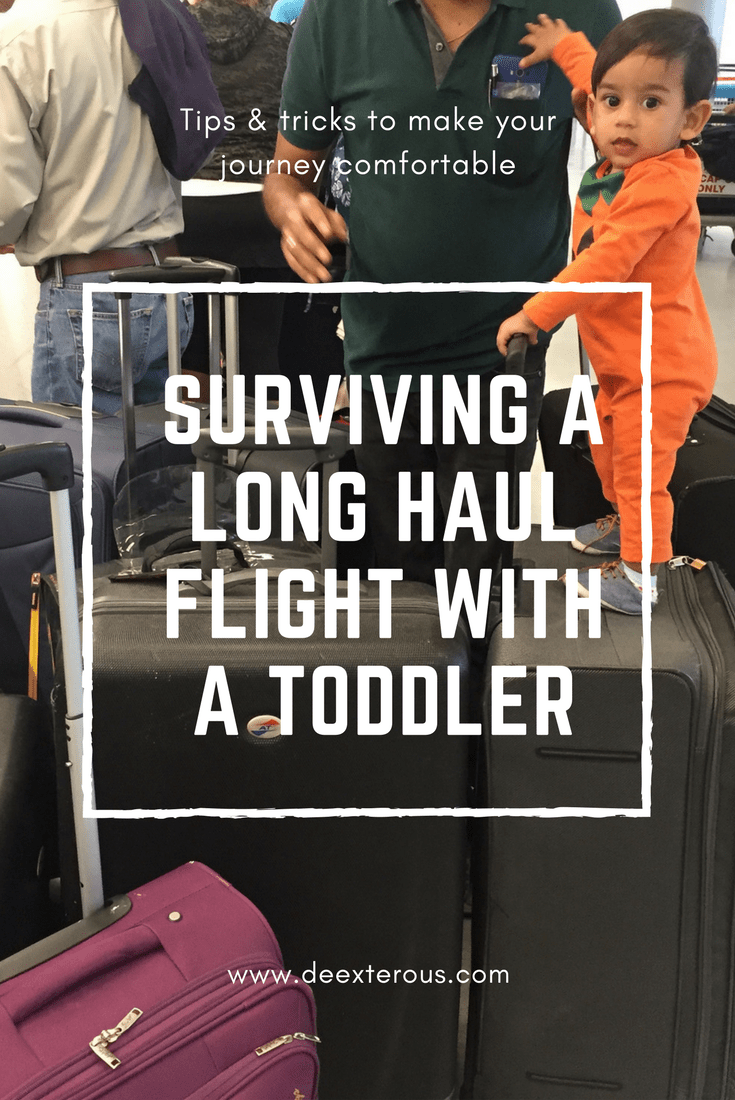 Surviving Long-haul flights with a toddler |Flying with baby