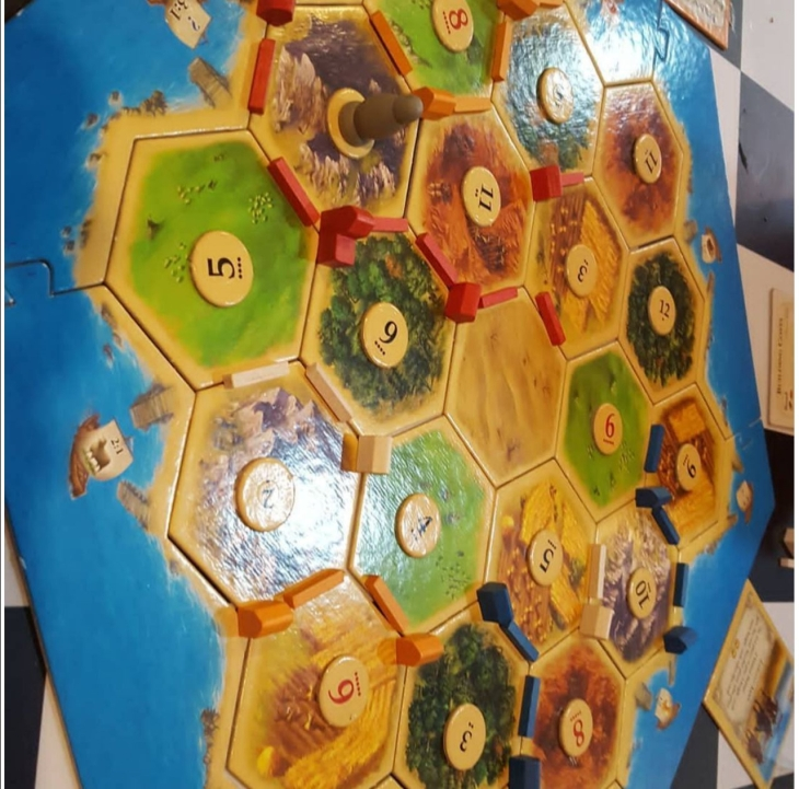 Game of catan on Rent Kar De