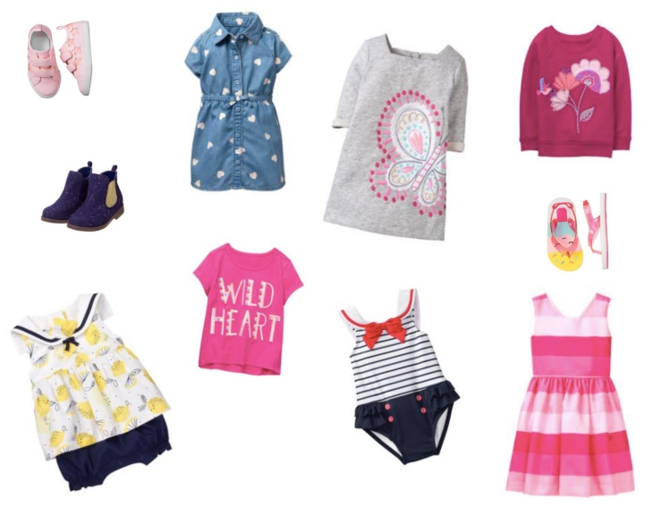 Gymboree Toddler Girl look Follow Your Art 2018 spring collection