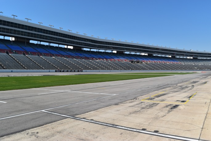 Pit stop at Texas Motor Speedway at No Limits in Fort Worth, Texas
